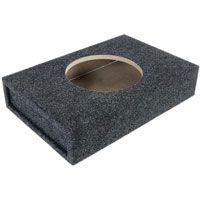 "Atrend Single 10"" Shallow Subwoofer Box (10SME)"