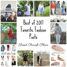 This is the best of 2017, my 10 favorite fashion posts of this past year. From my favorite outfits to awesome roundups, there's something for all!