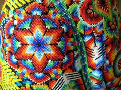 Many of the beads that were used in much of the traditional Native American beadwork were beads that had been carved out of different animal horns, turtle shells, and even deer hooves.