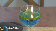 Fare una candela con olio ed acqua
