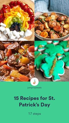 You can't celebrate St. Patrick's Day without Corned Beef & Cabbage! This year, make yours in the Instant Pot. Get creative with your soda bread by adding cinnamon and raisin... Beer Bread, Soda Bread, Guinness Beef Stew, Fresh Potato, Salads To Go, Oven Roasted Potatoes, Homemade Soft Pretzels, Potato Leek Soup, Hidden Veggies