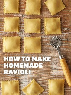 Really impress you family with a homemade Italian dinner! See how to make homemade ravioli using the best dough recipe and the freshest ingredients for a homemade filling. pasta How to Make Homemade Ravioli Italian Dishes, Italian Recipes, Italian Pasta, Pasta Casera, How To Make Homemade, Food Processor Recipes, Cooking Recipes, Kitchen Aid Recipes, Ethnic Recipes