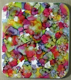 Alcohol Ink DIY...tutorial...gorgeous!