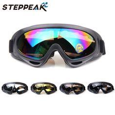 Yeni 2017 Kayak Gözlük Kayak Cam Gözlük 5 Renkler Mevcut Snowboard Gözlük Erkekler Kadınlar Kar Kayak Googleın Gözlük