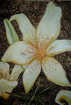 Tiger Lilies by Cherie Roe Dirksen (prints available) #art #homedecor