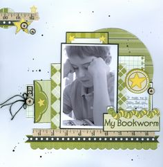 My Bookworm - Scrapbook.com