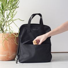 I prefer backpack style diaper bags so I can be hands free. This one from storq.com is great!