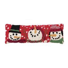 Peking Handicraft Snowmen Pillow