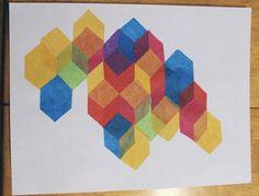 A Morning Art Project: Falling Blocks - Chris Loves Julia