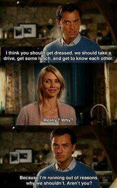 lets-go-to-the-movies - Posts tagged Jude Law Romantic Movie Quotes, Favorite Movie Quotes, Romantic Films, Love Movie, Movie Tv, Movie Scene, Series Movies, Movies And Tv Shows, Holiday Movie