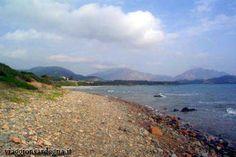 The Barisone Beach in the Marina di Tertenia #Sardinia #Beaches