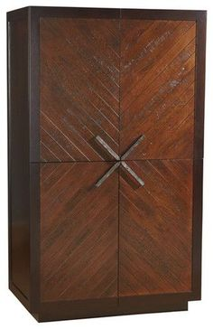 Herring Cabinet - contemporary - dressers chests and bedroom armoires - - by High Fashion Home #BedroomArmoires