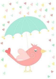 Bird & Umbrella