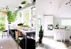 Kuchnia z wyjściem na zewnątrz - zdjęcie od cleo-inspire - Kuchnia - Styl Skandynawski - cleo-inspire