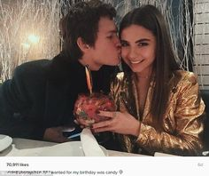 Close: Violetta recently celebrated her birthday, sharing a romantic dinner with the actor