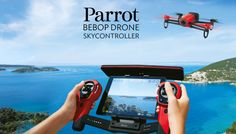Parrot Bebop Drone With Skycontroller Range Extender