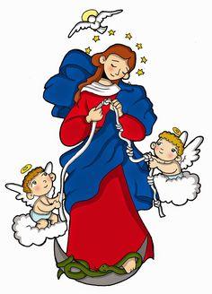 """MARÍA, LA QUE DESATA LOS NUDOS  Fiesta: 8 de diciembre        La devoción y la advocación de María la que """"desata los nudos"""", proviene de un..."""