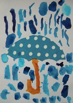 deštník a déšt 2