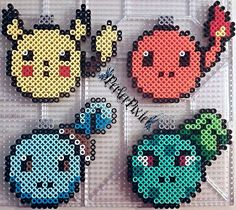 Pokemon Christmas ornaments perler beads by PerlerPixie on deviantART