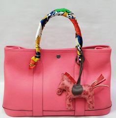 ce21c08fe99e Hermes Bag hermes garden party bag in pink