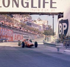 1964 Grand Prix de Monaco, Circuit de Monte Carlo, Lorenzo Bandini, Ferrari.
