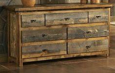 """Madeira cômoda, móveis cômoda, casa móveis de estar,madeira recuperada,móveis de madeira,móveis de peito,peito de pinho de gavetas """"Big Ben"""""""