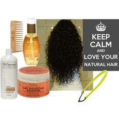 Naturally curly . No heat used. Shampoo, once a week, condition with Tresemme daily, add a few drops of jojoba oil to conditioner and use wide tooth comb to release knots while in shower. Don't comb dry or damp. Be careful of stretching hair.