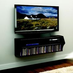 wall audio/video console