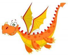 Cute Cartoon Baby Dragon Clip Art Images Are On A Transparent Background Cartoon Dragon, Black And White Cartoon, Dragon Images, Dragon Pictures, Cute Dragons, Dragon Art, Free Illustrations, Cartoon Drawings, Dragon Drawings