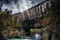 The Kinsol (Koksila River) Trestle is located between Cowichan Station and Shawnigan Lake on Vancouver Island.