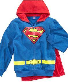 Isaac Morris Kids Hoodie, Boys Superman Hoodie - Kids Boys 8-20 - Macy's