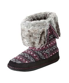 9283a204325 Women s Hawthorne Booties in Ruby Multi by WOOLRICH® The Original Outdoor  Clothing Company Fashion Slippers