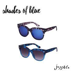 Tons de azul  Escolha o seu! #soujazz #sunglasses #eyewear #lojajazz #shades #style #ootd #goiania