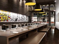 NUDO ramen house Japanese restaurant owned by Principal of HDG architecture, Josh Hissong Spokane / United States