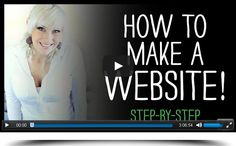 """Video Tutorial from Renae Christine of Rich Mom Business on """"How to Create a Website Using WordPress."""" Watch the tutorial at http://jimperson.com/webinars/how-to-make-your-own-website/."""