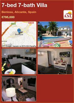 7-bed 7-bath Villa in Benissa, Alicante, Spain ►€795,000 #PropertyForSaleInSpain