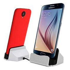 Desktop Caricabatteria da tavolo Dock Stand Support Sync Charger Docking Station Per Samsung Galaxy S5/ Note3, HTC ONE M8/M9, Google Nexus 5, LGG3 Android Smartphone