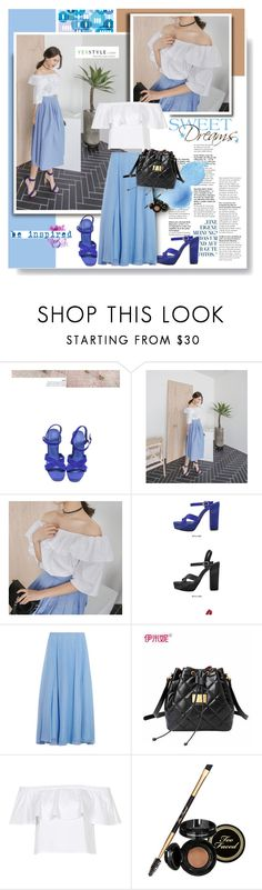 """Yesstyle.com: Sweet dreams!"" by hamaly ❤ liked on Polyvore featuring Converse, Mason by Michelle Mason, Emini House, Topshop, Underscore, Too Faced Cosmetics, Spring, contest and yesstyle"