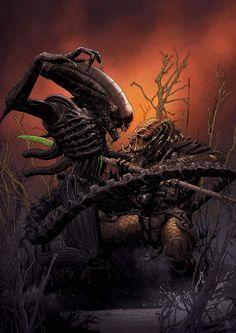 Alien Cosplay, Predator Cosplay, Alien Isolation, Alien Concept Art, Aliens Movie, Alien Vs Predator, Alien Art, Dark Fantasy Art, Art Portfolio