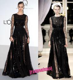 Un look de 10 para Lindsey Wixson en la gala amfAR de Cannes