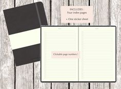 Digital Bujo for Goodnotes - Ipad 120 doted pages With hyperlinks on each page Easy navigation