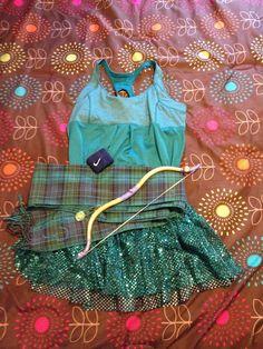 *DISNEY IDEA*   My Merida running costume. So fun!