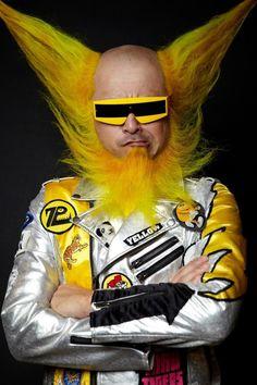 yellow IV Kengo Hioki's yellow beard.