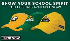 Check out GreenAndGoldGear.com to shop online for SELU gear!