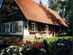Dom - PERŁA - Zabytkowa Chata Mazurska nad jeziorem