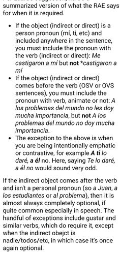 Indirect objects | objetos indirectos
