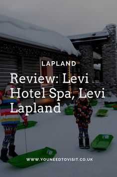 There is no better recommendation for a family friendly hotel in Lapland than when your children don't want to go home and the junior suites at the Levi Hotel Spa ticked all the right boxes. We had such a wonderful stay and it was the perfect location for us to explore everything that Levi, Lapland had to offer and is highly recommended.
