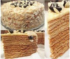 Honey cake «the run home»