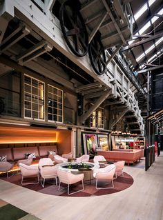 100 year-old building on Sydney's Woolloomooloo Wharf transformed by the design…