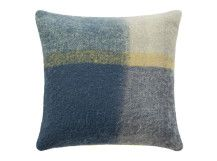 Lax Mohair Cushion 50 x 50cm, Blue Multi